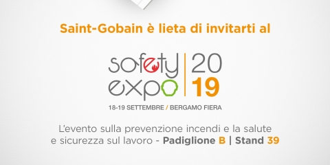 Saint-Gobain PPC al Safety Expo 2019